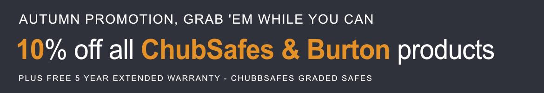 10% of ChubbSafe & Burton